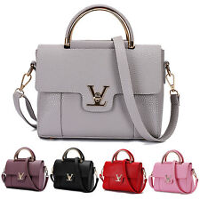 Hot Women Leather Handbag Tote Purse Leather Shoulder Messenger Hobo Bag Satchel