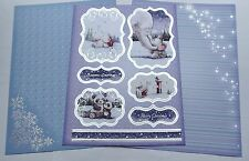 Hunkydory & Crafter's Companion Christmas Foiled Toppers & Card Kit /SS