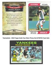 2010 Topps Cards Your Mom Threw Out (CYMTO) Baseball Set ** Pick Your Team **