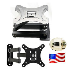 Full Motion Tilt Swivel LED LCD TV Wall Mount Bracket 10-55 Inch 180° Swivel US