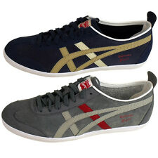 Mens Asics Onitsuka Tiger Mexico 66 Trainers Suede Leather Retro Shoes UK 4.5