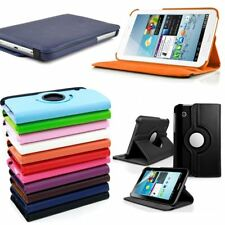 PU Leather Swivel Stand Folio Case Cover for Samsung Galaxy Tab 2 7.0 P3100