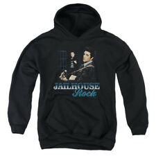 Elvis Presley Jailhouse Rock Big Boys Youth Pullover Hoodie BLACK