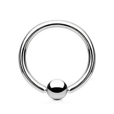 PunkJewelry Eyebrows piercing BCR Ring 10685.2oz Surgical steel