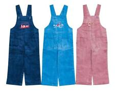 Boys/Girls Baby Toddler Train Birds Corduroy Dungarees Trousers 6 to 24 Months