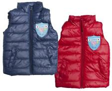 Boys Peppa GEORGE Pig Trophy Padded Hooded Gilet Bodywarmer 3 to 8 Years
