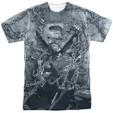 Superman Breaking Free Mens Sublimation Polyester Shirt