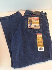 New Wrangler Jeans RELAXED FIT Mens STONEWASH Zipper Fly  Choose Your Size