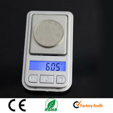 Mini Digital Scale 200g/0.01g LCD Gold Silver Jewelry Pocket Gram Weight CE