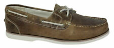 Timberland Classic 2 Eye Womens Boat Shoes Brown Leather 27619 U59