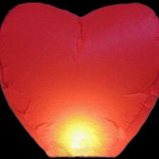 10pcs Sky Lanterns Chinese Paper Sky Fire Candle Wish Wedding Flying Party Lamp