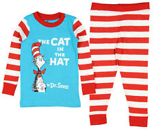 Intimo Boys' Dr. Suess The Cat In The Hat Pajama Set
