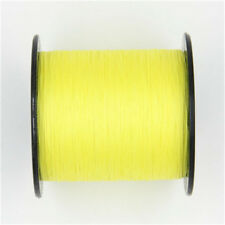 100% PE Fishing Line Spectra Dyneema Braid Yellow Green LINE100M 300M 500M 1000M