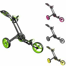 Masters iCart One 2017 3 Wheel One Click Push Golf Trolley in a range of colours