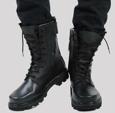 Military Combat Cool Mens Punk Biker Rock Tactical Motorcycle Gothic Ankle Boots