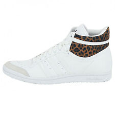 Adidas Top Ten Hi Sleek W Ladies Leather Sneaker Shoes Originals White M20833