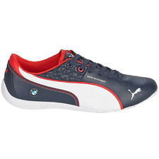 PUMA BMW MS Drift Cat 6 Leather Motorsport Shoes Men's Sneakers Blue NEW