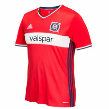 adidas Chicago Fire SC 2016/17 Red Replica Primary Jersey - MLS