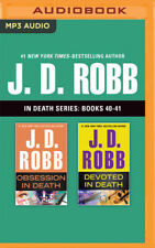 J. D. Robb: In Death Series, Books 40-41: Obsession in Death, Devoted in Death (
