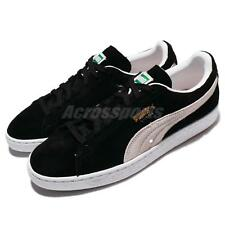 Puma Suede Classic Black White Mens Womens Shoes Sneakers 352634-03