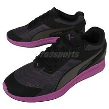Puma Ignite V2 Wns II Black Purple Womens Running Shoes Sneakers 188612-02