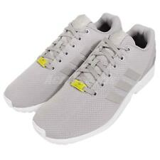 adidas Originals ZX Flux Grey White Mens Running Shoes Sneakers Trainers M19838