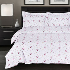100% Cotton Duvet Cover Sets- Zahra 300 Thread Count Reversible Flower Printed
