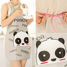 Wow!!! Women Cute Cartoon Waterproof Apron Kitchen Restaurant Cooking Bib Aprons