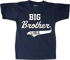 personalized big brother shirt new big brother clothes big brother tshirt name