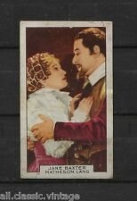 Vintage Movie Film Star Trading Cards 1935 Gallaher Film Partners Pick Your Card