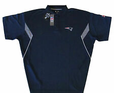 New England Patriots NFL Big & Tall Sideline Synthetic Polo Shirt - Blue -NWT