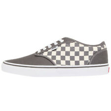 Vans Atwood Shoes Grey Men's Sneakers Canvas Textile Trainers NEW 15gipf