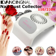 110V&220V Nail Dust Suction Collector Cleanser UV Nail Dryer Machine With Fan