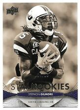 2012 Upper Deck Sepia Glossy Rookie #205 Stephon Gilmore #04/10  SOUTH CAROLINA