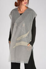 RICK OWENS New Woman Embroidered Tulle SCAPULAR Coat Jacket Made in Italy NWT