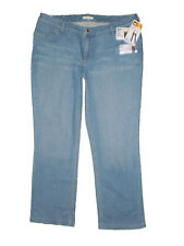 Lee Slender Secret Barely Boot Mid Stretch Blue Denim Jeans Size 22W, 24W New
