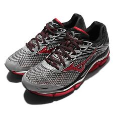 Mizuno Wave Enigma 6 VI Grey Red Mens Running Shoes Trainer Sneakers J1GC16-0262