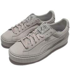 Puma Basket Platform Reset Wns Grey Violet Women Casual Shoes Sneakers 363313-01