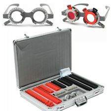 266x Optical Lens Optometry Rim Case Kit Glasses Accessories + Test Trial Frame