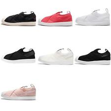adidas Originals Superstar Slip On W Strap Womens Shoes Sneakers Pick 1
