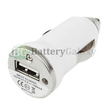 20 25 50 100 Lot USB Mini Car Charger for iPod Nano Touch iPhone 4 4S 5 5C 5S SE