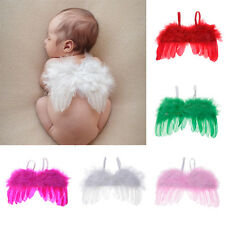 Photo Photography Prop Outfit Baby Infants Newborn Feather Angel Wings 5 Colors
