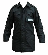 New Yaffe Ex Police Black Foul Weather Waterproof Ventflex Coat Security