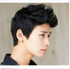 New Best Aircraft Wig Handsome Student Korean Men and Boys Short Hair Wig+Cap.