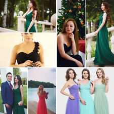 Ever-Pretty One Shoulder Bridesmaid Formal Party Cocktail Evening Prom Dress