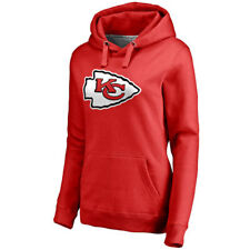 NFL Pro Line Kansas City Chiefs Women's Red Primary Team Logo Pullover Hoodie