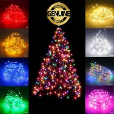 Christmas Waterproof LED String 2-10M 100 Xmas Party Fairy Lights Lamp For Tree