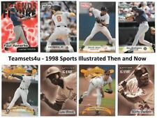 1998 Sports Illustrated Then and Now Baseball Set ** Pick Your Team **