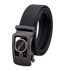 New Casual Luxury Jaguar Genuine Leather Mens Belt Automatic Novelty Waistband