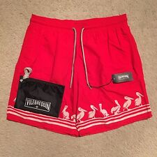 Vilebrequin Moorea Pelicans Swim Shorts / Trunks - Red Size M-XXXL RRP: €195.00